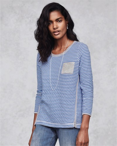 Product Image of Stripe jersey top