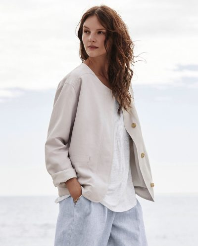 Product Image of Cropped linen jacket